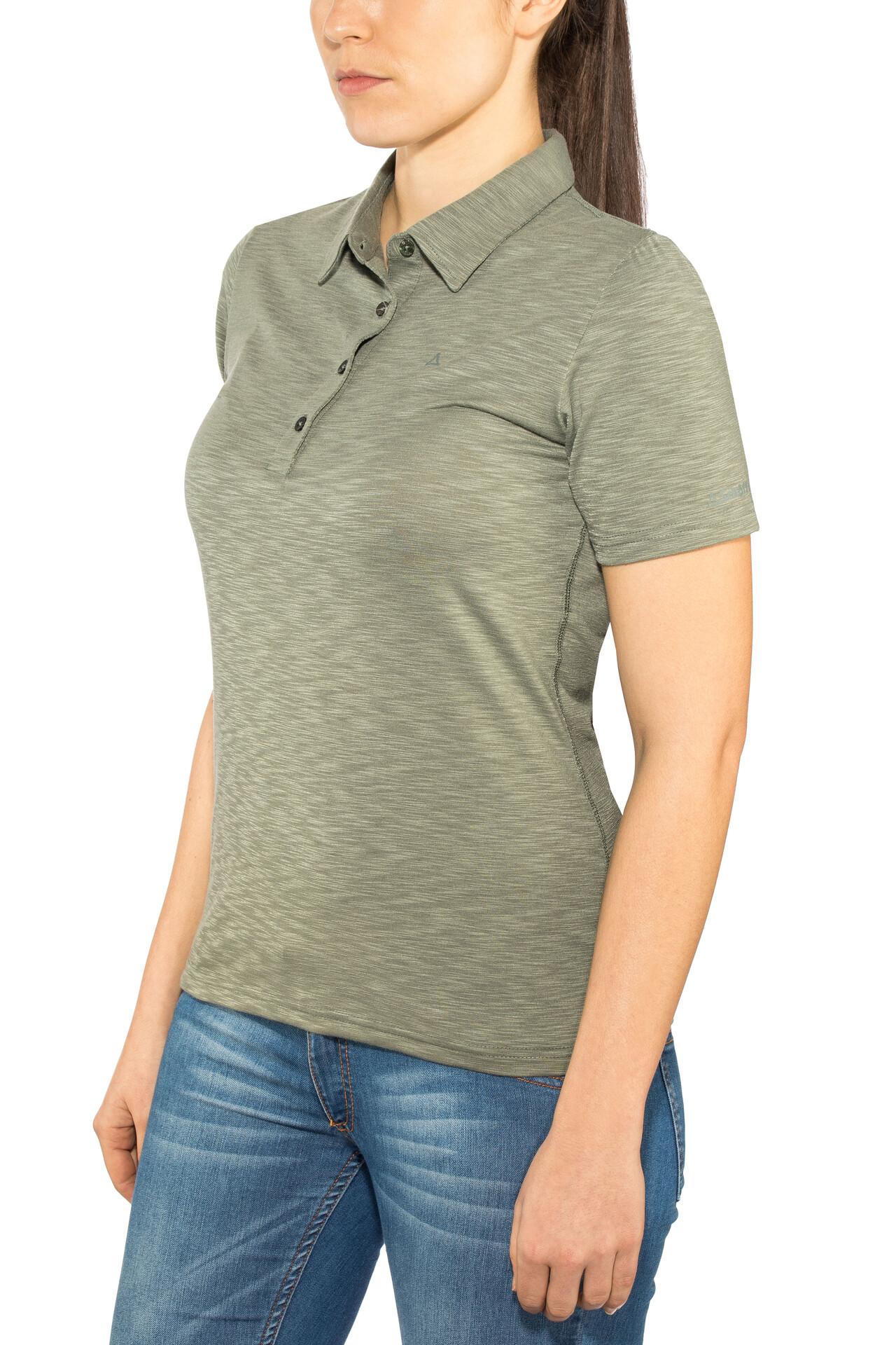 Capri1 Shirt Gris Manches Schöffel T Courtes Femme TJcl1K3F